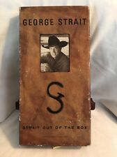 George Strait, Strait Out of the Box Set (4 CD's, 1995) Country Music! FREE S/H!