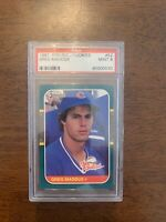 1987 Donruss The Rookies #52 Greg Maddux PSA 9 MINT Chicago Cubs Hall of Fame
