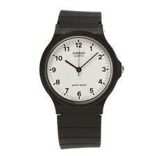 Casio MQ-24-7BLL - Reloj unisex, correa de resina, color negro
