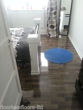 SUPER High Gloss Laminate Flooring **EXCLUSIVE COLOURS** (Price Per 2.1 sqm)