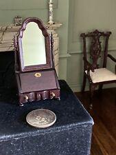 Vintage Bespaq 1/12 Scale Miniature Dollhouse Dressing Table Vanity Mirror