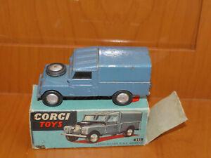 Corgi Toys  351 Land Rover R.A.F. vehicle con scatola