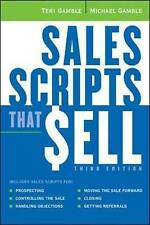 NEW Sales Scripts That Sell by Michael Gamble