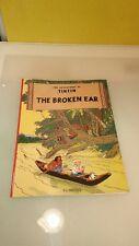 The Adventures of Tintin Original Classic: The Broken Ear by Hergé UK copy