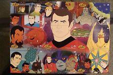 Star Trek 2003 Rittenhouse SET JD1-9 Animated Series James Doohan Original Cards