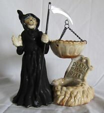 Yankee Candle Hanging Tart Wax Burner Warmer Grim Reaper Death Warmed Over NEW