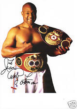 George Forman Autographed  8X10 Photo Picture