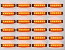 24 X 24v LED Luz de marcador lateral lámpara se adapta MAN VOLVO IVECO MERCEDES SCANIA DAF