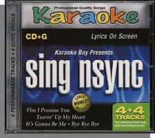 Karaoke CD+G - Sing Nsync - New 4 Song CD-This I Promise You, Tearin Up My Heart