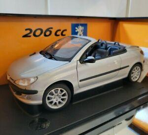 GATE 1:18 Peugeot 206 CC No Norev Minichamps Otto Gt Spirit Solido