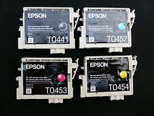 Genuine Epson T0445 Ink Cartridges C64 C66 C84 C86 CX3600 CX3650 CX6400 CX6600