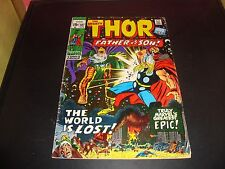 Mighty Thor 187 Original Marvel Comic Book 1971 VG Condition (5.0) Father VS Son
