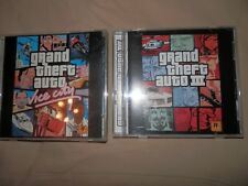Lot Of 2 Grand Theft Auto PC Games III And Vice City