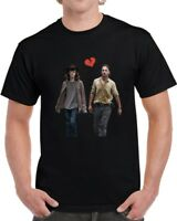 Rick And Carl Grimes Heartbreak Unisex T-Shirt The Walking Dead Tv Show Gift Tee