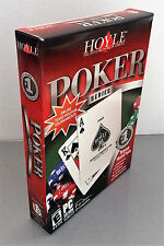 Job Lot 18 x Hoyle Poker game in box with manual packed in 1 box Windows 10
