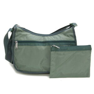 LeSportsac Heritage Mallard Classic Hobo Crossbody Bag, 2 Tone Avocado Green NWT