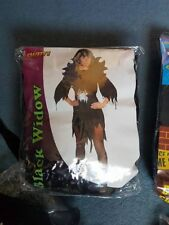 Black Widow Dressing up Full Outfit, One Size, fits approx size 10 -14