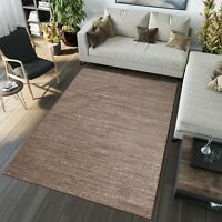 MODERN DESIGN RUGS SOFT LIGHT BROWN CARPET BEST PRICE DIFFERENT SIZES COLOURS