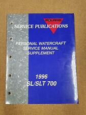 Polaris 1996 Sl/Slt 700 Personal Watercraft Service Manual Supplement