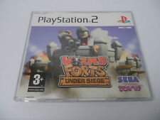 Worms Forts Under Siege Promo Version! (PAL) Playstation 2 PS2 PS3 Sony