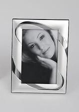 Fotorahmen Bilderrahmen Kreis für 10x15cm Silber Formano