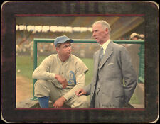 Helmar Imperial Cabinet #80 Jimmy Foxx; Connie Mack Philadelphia Athletics