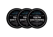 3x Carbon Coco Aktivkohle Zahnpolitur Whitening Zahnpasta weiße Zähne 30g