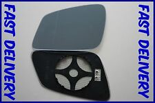 Bmw 3 Gran Turismo F34 2013+ Wing Mirror Glass Blue Wide Angle Heated Left