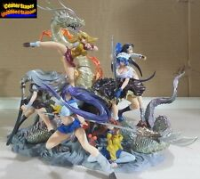 ikki Tousen Dragon Destiny Trading Figure Set of 6 Dragon Base Limited Edition