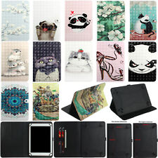 "Universal Leather Wallet Card Stand Case Cover For Samsung Lenovo HP Tablet 7""TX"
