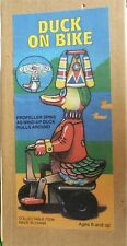 Duck On Bike - Schylling Wind Retro Toy Classic Tobar Figure Up Collector