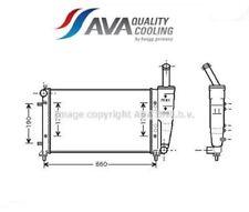 FT2290 Radiatore, Raffreddamento motore (AVA)