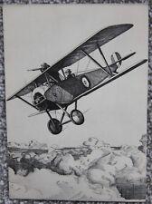 1935 Howard Leigh Nieuport Biplane John Hamilton Ltd Collotype Aviation Postcard