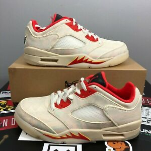 Nike Air Jordan 5 Retro Low Chinese New Year (CNY) Men's Size 8.5 DS DD2240-10