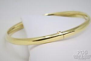 14k Fine Gold Bangle Bracelet 5.1gr 22356