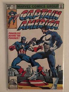 Captain America 241 1980 NM 9.4 Unread Key Punisher App, Avengers $75 Value