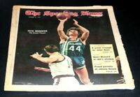 THE SPORTING NEWS COMPLETE NEWSPAPER MARCH 6 1971 PETE MARAVICH