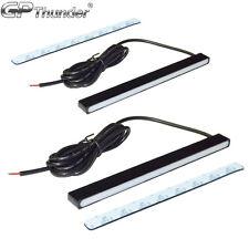 Sectionless Slim Aluminum LED DRL Day Time Running Light fog Lamp Super White