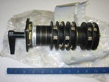 GE ITI 95 Series 952458D 6 Deck Rotary Circuit Breaker Control Switch