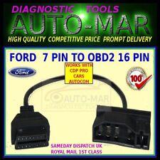 Ford 7 Pin Macho A Obdii 16 Pin Mujer auto diagnóstico Cable Adaptador
