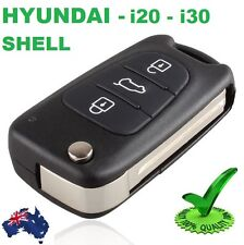 1 x Hyundai i30 i20 Elantra Button Flip Key Replacement Remote Case Shell Blank