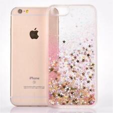 COVER Custodia Glitter Morbida Silicone STRASS per Apple iPhone 6 e 6S Rosa Oro