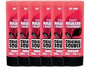(15,33€/L) Original Source ★ Rhabarber & Himbeere ★ Duschgel (6 x 250ml)