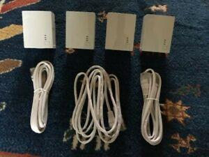 4 x TP-LINK TL-PA4010 AV600 Powerline Adapters