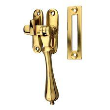 Delf Tear Drop Casement Window Fastener 0396PB - Polished Brass