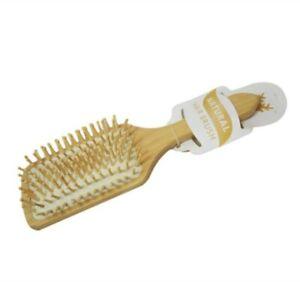 26cm Bamboo Wood Mens Womens Hair Brush Salon Barbers Hair Brush