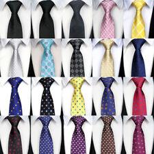 "57"" Fashion Classic 8CM mens tie Man Silk ties Adult Floral Jacquard Necktie"