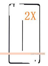 2X Black Touch Screen Pre Cut Adhesive Tape Sticker Glue For Apple iPad Air 2