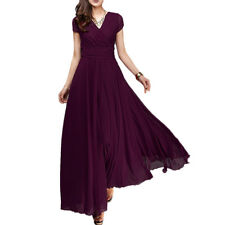 Boho Chiffon Long Prom Dress Bridesmaid Wedding Evening Formal Party Ball Gown
