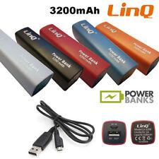 Power Bank Linq 3200mah Batteria Portatile Universale Cavo Usb Micro Usb Ly-3200